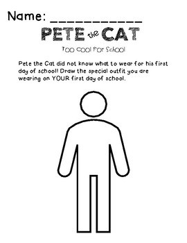 Pete the Cat Too Cool for School Reading Companion