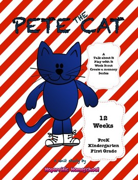 Pete the Cat Unit Study Bundle