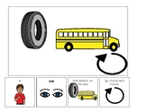 Pete the Cat Wheels on the Bus Adapted Book