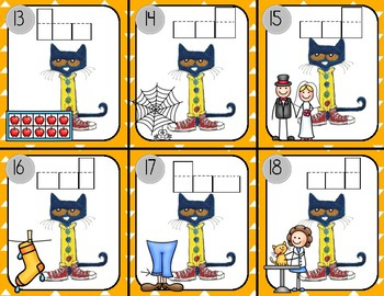 Write the Room with Pete the Cat: short e words