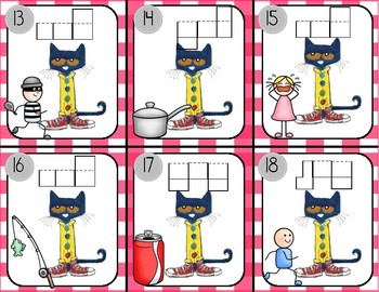 Pete the Cat: Write the Room: short o words
