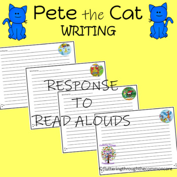 Pete the Cat Writing Paper  Responding to Literature