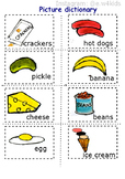 Pete the Cat _Lunch_small flashcards