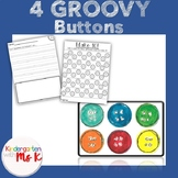 Four Groovy Buttons! Retell, Write, Count, and Memory