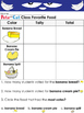Pete the Cat and the Bad Banana Writing Prompts and Worksheets