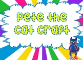 Pete the Cat craft
