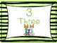 Pete the Cat number posters (1-10)