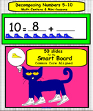 Pete the Cat Decomposing Numbers on the Smart Board