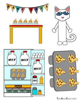 Pete the Cat's Groovy Bake Sale (Visuals)