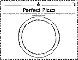 Pete the Cat's Perfect Pizza Party Coloring Sheets and Partner Activity