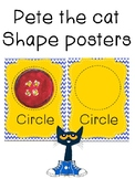 Pete the Cat- shape posters