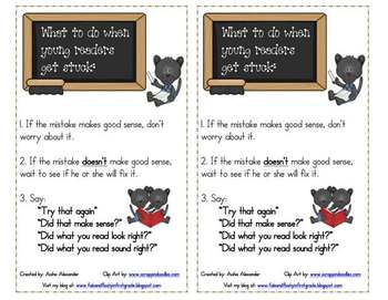Pete the Panther: What To Do When Readers Get Stuck