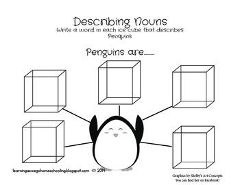 Pete the Penguin - Language Skills Set
