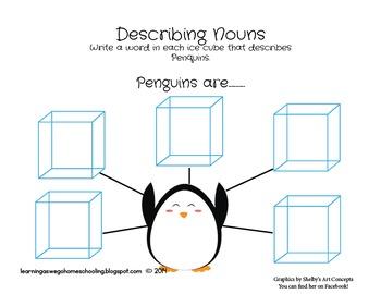 Pete the Penguin - Language Skills Set - Color set