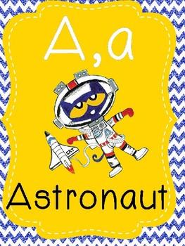 Pete the cat alphabet