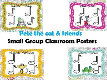 Pete the cat and friends Small group