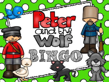 Peter And The Wolf:  BINGO GAME - PDF Edition