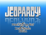 Peter and the Wolf Instrument Family Jeopardy Style Quiz Show