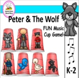 Peter And The Wolf  {Music Cup Game}