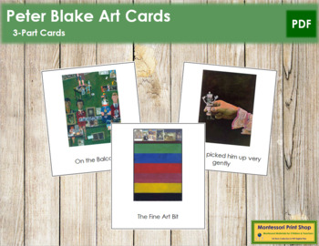 Blake (Peter) 3-Part Art Cards