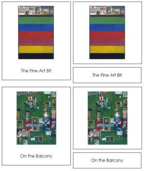 Blake (Peter) 3-Part Art Cards