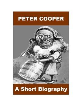 Peter Cooper - A Short Biography