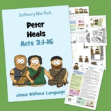 Peter Heals Kidmin Lesson & Bible Crafts - Acts 3