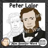 Peter Lalor Clipart