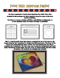 Peter Max Hearts & Flag Project