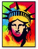 Peter Max Statue of Liberty Mural