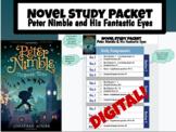 Peter Nimble & His Fantastic Eyes Digital Novel Study in Google Slides (Level U)