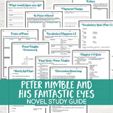 Peter Nimble and His Fantastic Eyes by Jonathan Auxier Novel Study