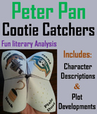 Peter Pan Novel Study (Scoot Unit Review Game)