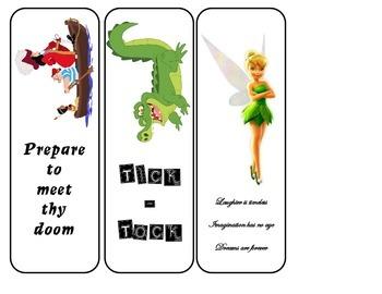 Peter Pan Bookmarks