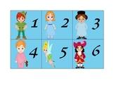 Peter Pan Calendar Set