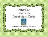 Peter Pan Character Vocabulary Cards (Unit 1)