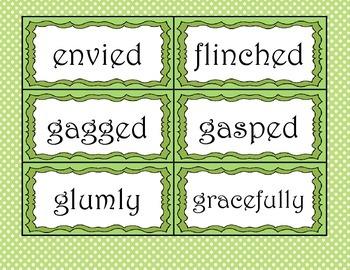 Peter Pan Character Vocabulary Cards (Unit 2 & 3)