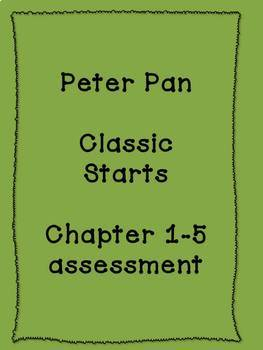 Peter Pan Classic Starts Chapter 1-5 test