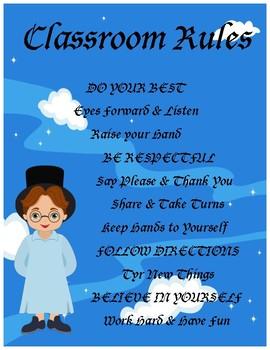 Peter Pan Classroom Rules