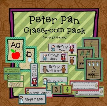 Peter Pan Classroom pack