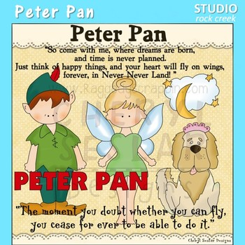 Peter Pan Clip Art C Seslar
