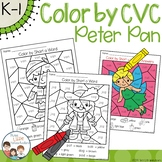 Peter Pan Color by CVC Word