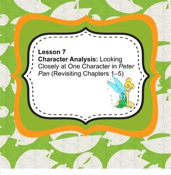 Peter Pan ELA Grade 3 Module 3a Unit 1 Lessons 7-9