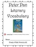 Peter Pan Literary Vocabulary Journal (Unit 1)