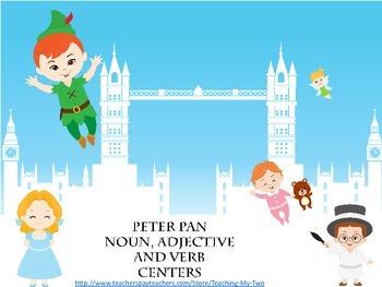 Peter Pan Noun, Adjective and Verb Centers