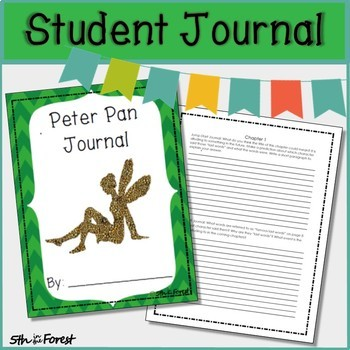 Peter Pan Novel Study BUNDLE (Chpts 1-2 FREE SAMPLE!)