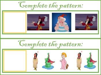 Peter Pan Pattern Center