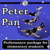 Peter Pan script for single class or large group musical performance
