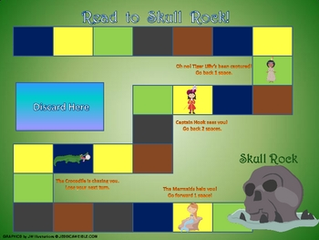 Peter Pan Sight Word Game- Read to Skull Rock