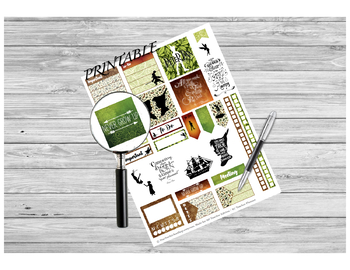 Peter Pan Sticker Sheet PRINTABLE for Teacher Planners